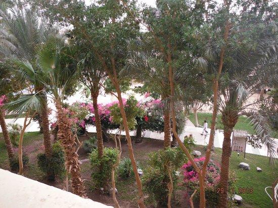 Sindbad Aqua Park : widok z balkonu