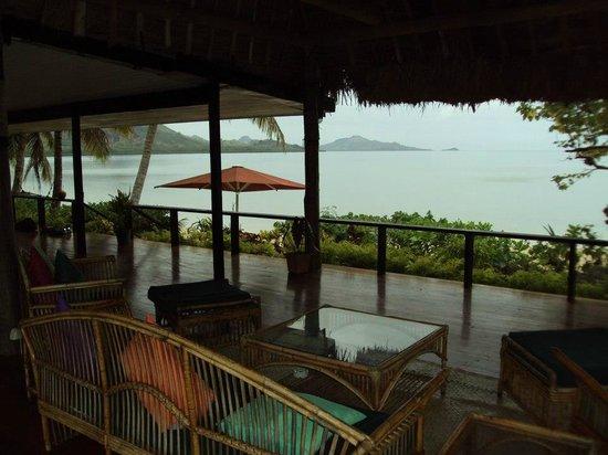 Nukubati Private Island: View from our veranda