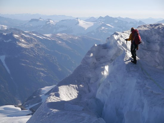 Altus Mountain Guides-Day Tours: Climbing Mt. Garibaldi