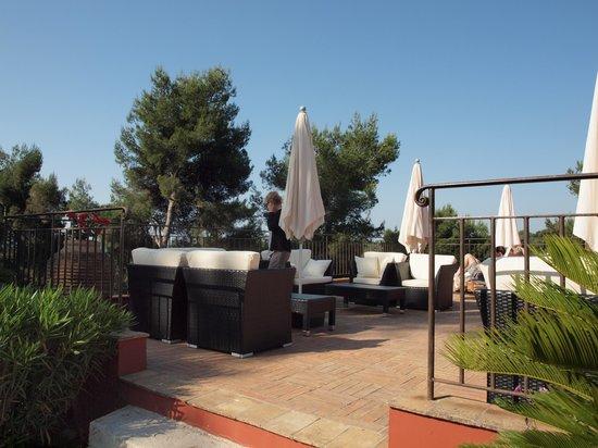 Hotel Cantemerle Spa & Restaurant: la terrasse