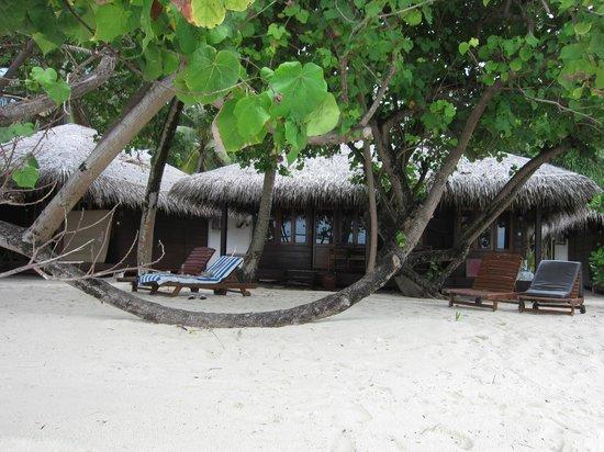 Filitheyo Island Resort: Strandabschnitt Ost