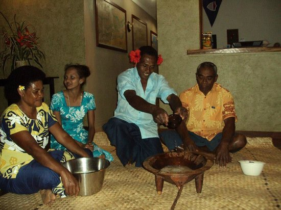 Palmlea Farms: Kava ceremony