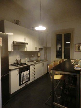 Guest House Rome: Cocina