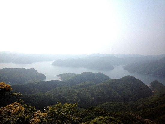 Eboshidake Observatory: 烏帽子岳展望台