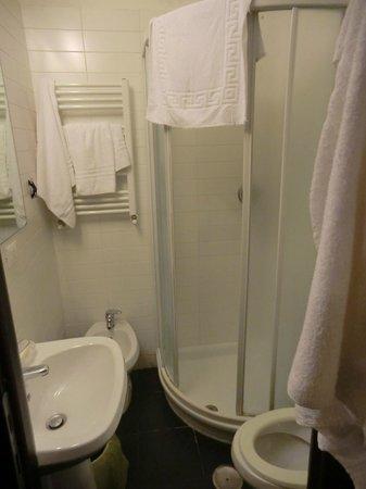 Guest House Rome: Baño habitación