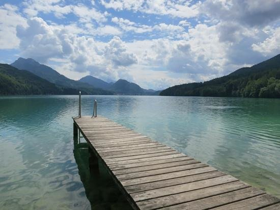 Schloss Fuschl A Luxury Collection Resort & Spa, Fuschlsee-Salzburg: one of the bathing spots (exclusive to the hotel)