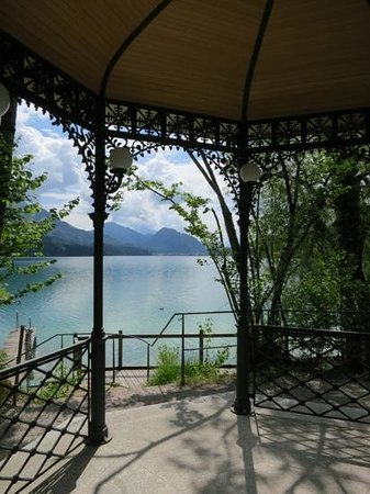 Schloss Fuschl Resort & Spa, Fuschlsee-Salzburg: a view over the lake