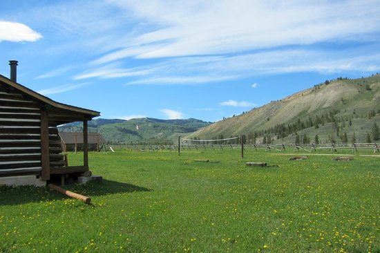 Nine Quarter Circle Ranch: ranch view
