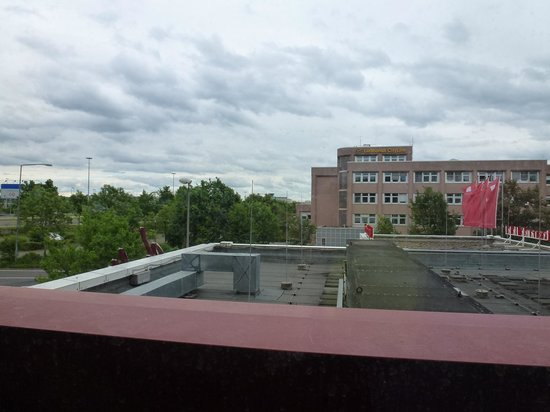 Leonardo Hotel Köln Bonn Airport: The view from my room window.