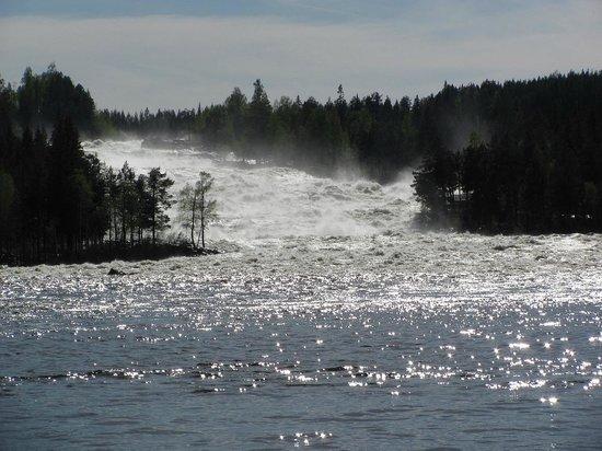 Norrbotten County, Swedia: storforsen