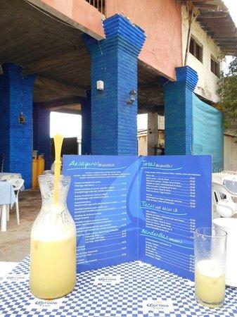 Yaya's Cafe: Menú
