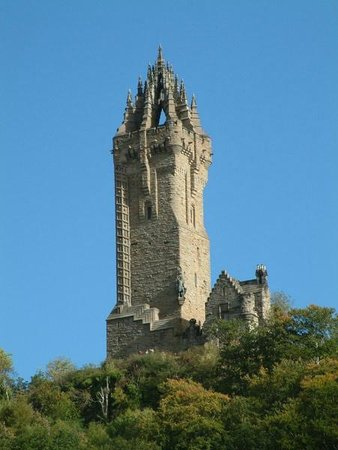 Whistlers Dell B&B: The Wallace Monument, near Stirling