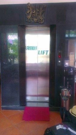 Holiday Diamond Hotel: The elevator
