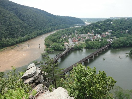 Hapers Ferry From Outlook Picture Of Harpers Ferry National - Trip advisor harpers ferry