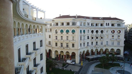 Electra Palace Thessaloniki: View from room 1