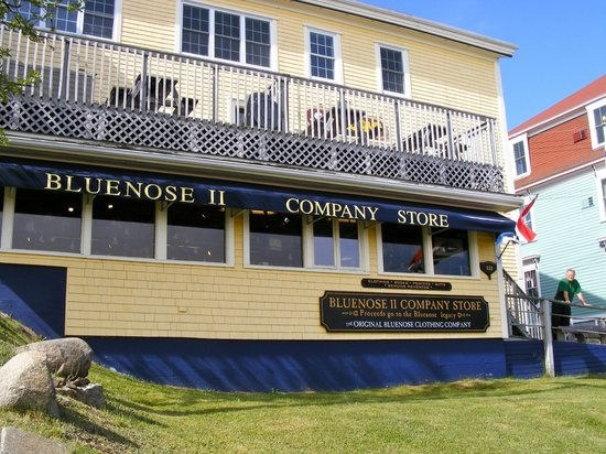 Bluenose II Company Store: Outside the store