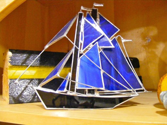 Bluenose II Company Store: Ship model