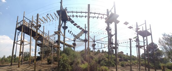 Browns Canyon Adventure Park: 66 different elements!!