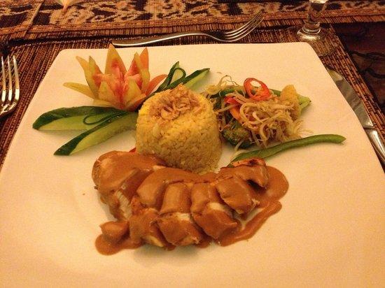 Villa Seriska Bali: Thai Chicken