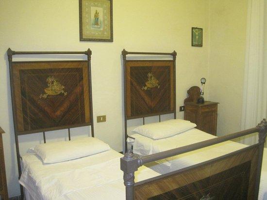 Santuario di Oropa : Our room at the monastery