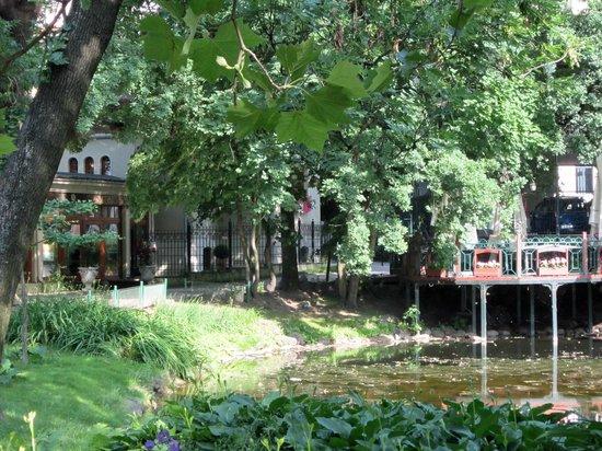 Park adjacent to Villa Secesja