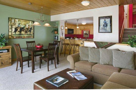 The West Condominiums: Sample Interior of Unit