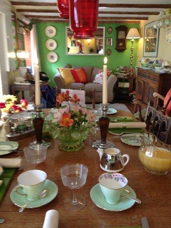 The Little Cornish B&B: Just before breakfast