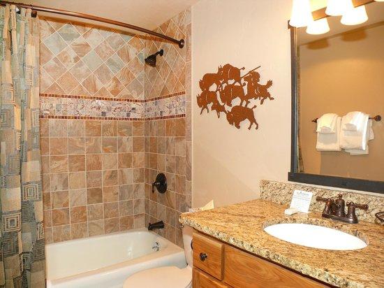 The West Condominiums: Sample Bathroom
