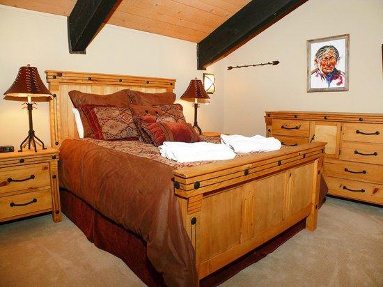 The West Condominiums: Sample Bedroom