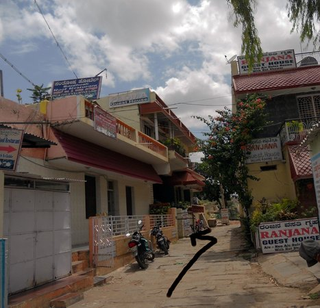 Padma Guest House : View of the street