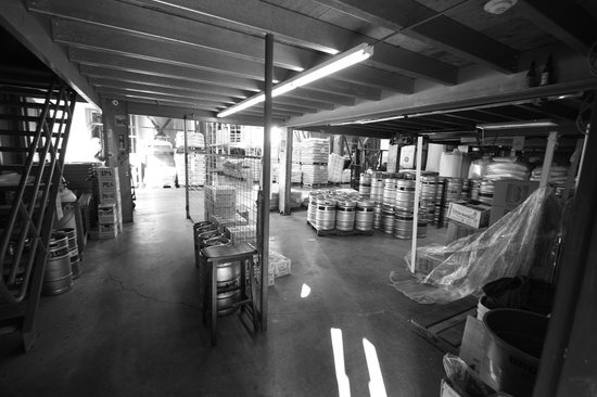 Lagunitas Brewing Co. : Inside the brewery
