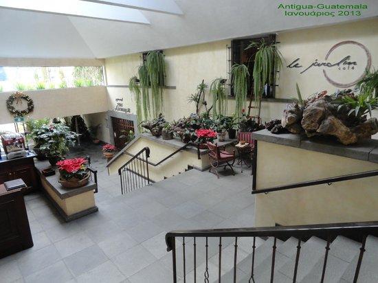 Soleil La Antigua: Little nice corners everywhere inside