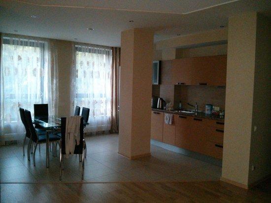 Sharf Hotel: Kitchen