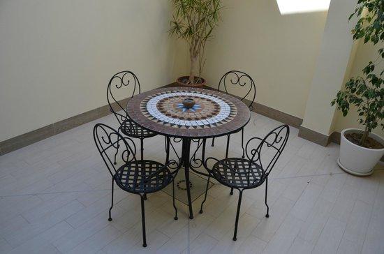 La Villa del Mare: терраса в номере