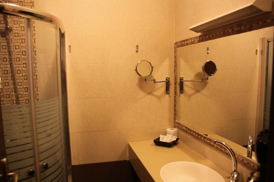 Shepherd Plaza Hotel: salle de bains