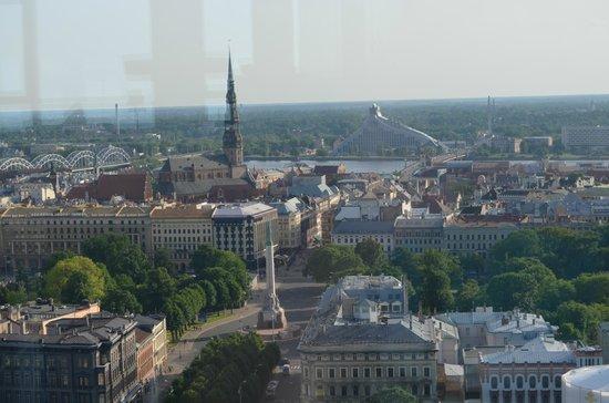 Radisson Blu Daugava Hotel, Riga: vista do bar