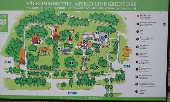 Karta Sverige Vimmerby.Plan Bild Fran Astrid Lindgrens Nas Vimmerby Tripadvisor