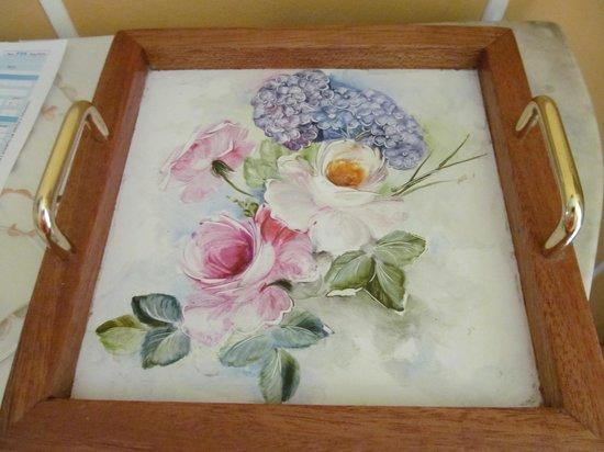 Bed & Breakfast Il Giardino delle Farfalle: dipinto a mano