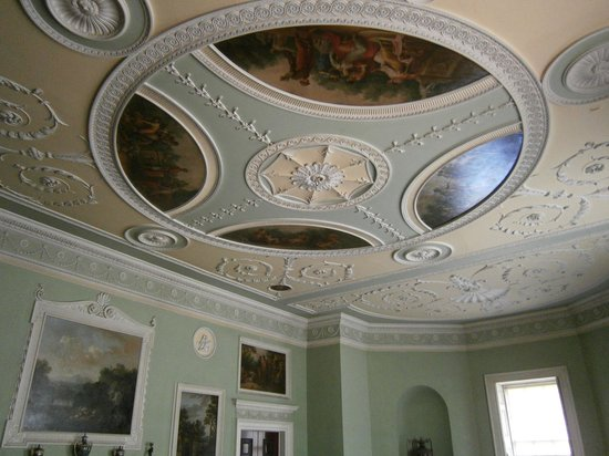 Saltram (National Trust): beautiful ceilings