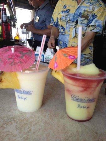 Salty's Tiki Bar : Great adult frozen beverages!