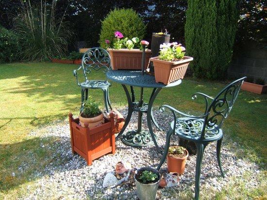 Portumna House Bed & Breakfast: Portumna House Garden