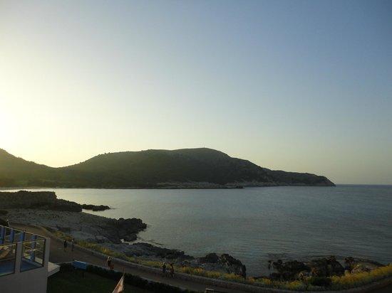 HSM Regana: Sonnenuntergang auf der Terrasse