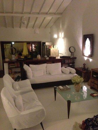 Hospedaria do Quadrado: Living Room / Sala de estar