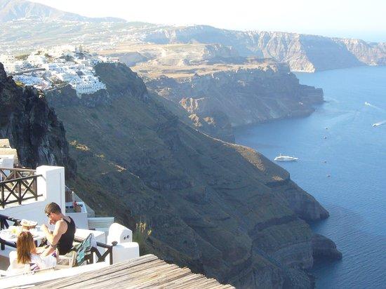 Avianto Suites: Blick von der Terrasse