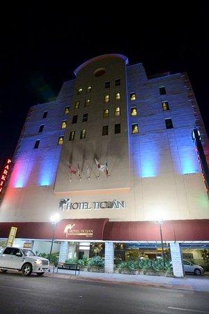 فندق تيكون: Vista HOTEL TICUAN