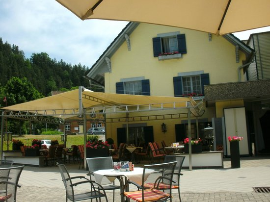 Hotel Waldblick: From the Patio