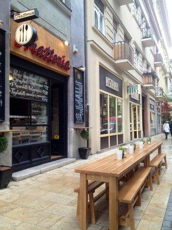 Photo of Italian Restaurant La Trattoria at Oktober 6. Utca 13., Budapest 1051, Hungary