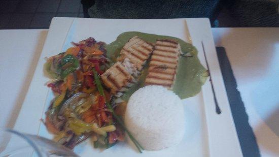 Restaurant du Chateau de Brelidy : Poisson Thai