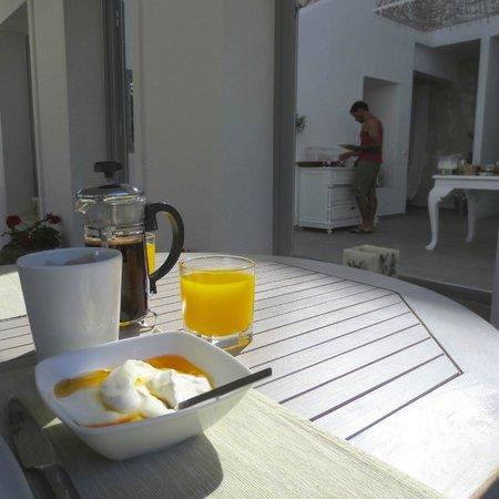 Olivemare: El desayuno.