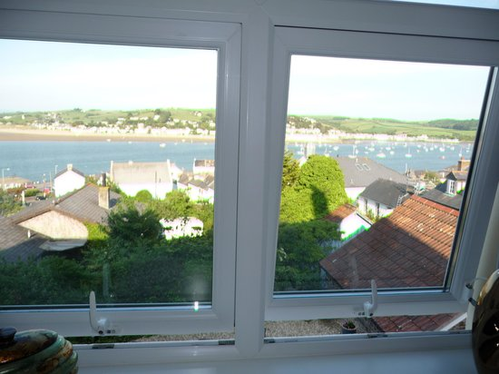 Appledore House: view from the bedroom